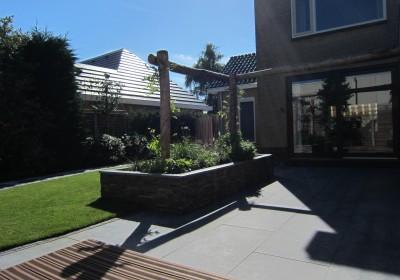 Moderne tuin in Limmen