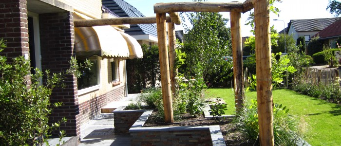 Moderne Tuin in Limmen foto 2